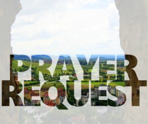 Prayer Request: Transition